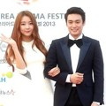 Subin Dal Shabet dan Oh Sang Jin di Red Carpet Korean Drama Awards 2013