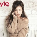 Yubin Wonder Girls di Majalah InStyle Edisi November 2013