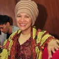 Dorce Gamalama Saat Jumpa Pers Film 'Dorce vs Hantu'