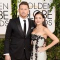 Channing Tatum dan Jenna Dewan di Red Carpet Golden Globe Awards 2014