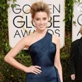 Amber Heard di Red Carpet Golden Globe Awards 2014