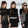 2NE1 di Red Carpet Golden Disk Awards 2014