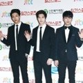 CN Blue di Red Carpet Golden Disk Awards 2014