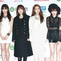 4Minute di Red Carpet Golden Disk Awards 2014
