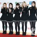 Crayon Pop di Red Carpet Golden Disk Awards 2014
