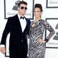Robin Thicke dan Paula Patton di Red Carpet Grammy Awards 2014