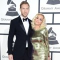 Calvin Harris dan Rita Ora di Red Carpet Grammy Awards 2014