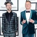 Ryan Lewis dan Macklemore di Red Carpet Grammy Awards 2014