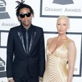 Wiz Khalifa dan Amber Rose di Red Carpet Grammy Awards 2014