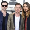 30 Seconds to Mars di Red Carpet Grammy Awards 2014