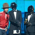 Pharrell Williams dan Daft Punk Raih Piala Record Of The Year