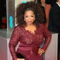 Oprah Winfrey di Red Carpet BAFTA Awards 2014