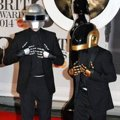 Daft Punk di Red Carpet BRIT Awards 2014