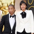 Pharrell Williams dan Helen Lasichanh di Red Carpet Oscar 2014