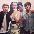 One Direction Foto Bersama Katy Perry