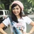 Bella Shofie di Jumpa Pers Film 'Jomblo Keep Smile'