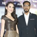 Julie Estelle dan Alex Abbad di Premiere Film 'The Raid 2: Berandal'
