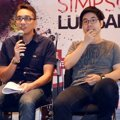 Billy Simpson Saat Perilisan Album 'Lukisanku'