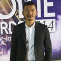 Rio Dewanto di Red Carpet Indonesian Movie Awards 2014