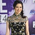 Laura Basuki di Red Carpet Indonesian Movie Awards 2014
