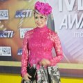 Ranty Purnamasari di Red Carpet Indonesian Movie Awards 2014