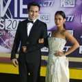 Arifin Putra dan Tara Basro di Red Carpet Indonesian Movie Awards 2014