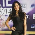 Pevita Pearce di Red Carpet Indonesian Movie Awards 2014