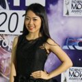 Karina Salim di Red Carpet Indonesian Movie Awards 2014