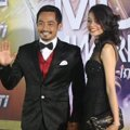 Yama Carlos di Red Carpet Indonesian Movie Awards 2014