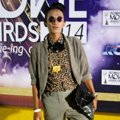 Aming di Red Carpet Indonesian Movie Awards 2014