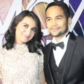 Teuku Wisnu dan Shireen Sungkar di Indonesian Movie Awards 2014