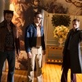 Hugh Jackman, Nicholas Hoult dan Michael Fassbender di 'X-Men: Days of Future Past'