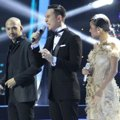Husein, Daniel dan Nowela di Result and Reunion Show Indonesian Idol 2014