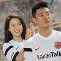 Song Ji Hyo dan Gary di Asian Dream Cup 2014
