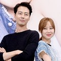 Gaya Jo In Sung dan Gong Hyo Jin Saat Jumpa Pers Serial 'It's Okay, It's Love'