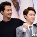Jo In Sung dan D.O. EXO di Jumpa Pers Serial 'It's Okay, It's Love'