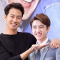 Gaya Jo In Sung dan D.O. EXO di Jumpa Pers Serial 'It's Okay, It's Love'
