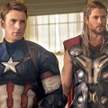 Captain America dan Thor di Film 'Avengers: Age of Ultron'