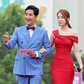 Shin Hyun Joon dan Yoo In Na di Red Carpet Puchon International Fantastic Film Festival 2014