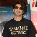 Reza Rahadian di Acara Press Screening Film 'Yasmine'