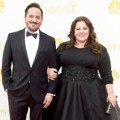 Ben Falcone dan Melissa McCarthy di Red Carpet Emmy Awards 2014