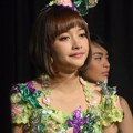 Kinal JKT48 Saat Perilisan Single ke-7 'Kokoro No Placard'