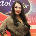 Titi DJ di Jumpa Pers Indonesian Idol Junior