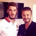 David de Gea Bersama David Beckham