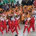 Antusiasme Atlet Indonesia di Opening Ceremony Asian Games Incheon 2014