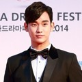 Kim Soo Hyun di Red Carpet Korea Drama Awards 2014
