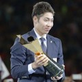 Atlet Renang Jepang Kosuke Hagino Raih Piala MVP Asian Games Incheon 2014