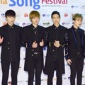 Teen Top di Red Carpet Asia Song Festival 2014