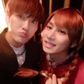 Zhou Mi dan Heechul Anna di Pesta Halloween SM Entertainment
