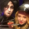 Hyoyeon Girls' Generation dan Key SHINee di Pesta Halloween SM Entertainment